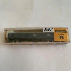 Trenes Escala: IBERTREN VAGON N RENFE AZUL FURGON. Lote 203243192