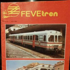 Trenes Escala: REVISTA FEVE TREN, N° 5 JULIO 1985. Lote 203456401