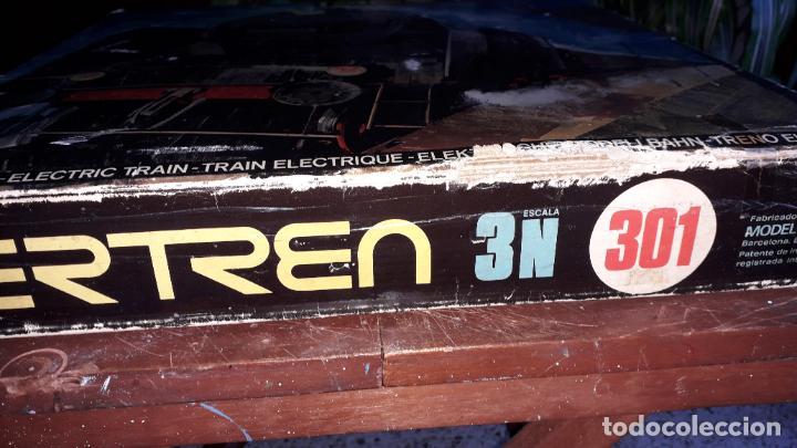 Trenes Escala: IBERTREN 3N REF. 301 T.R. VAPOR MERCANCIAS, TREN ANTIGUO, TREN ELECTRICO , JUGUETE ANTIGUO - Foto 7 - 204740051