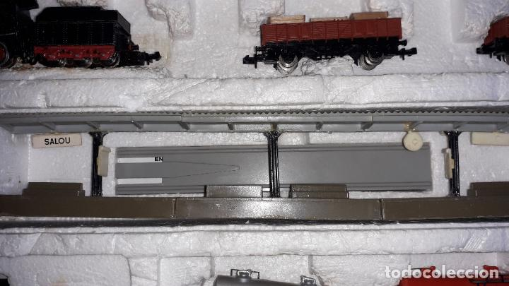 Trenes Escala: IBERTREN 3N REF. 301 T.R. VAPOR MERCANCIAS, TREN ANTIGUO, TREN ELECTRICO , JUGUETE ANTIGUO - Foto 8 - 204740051
