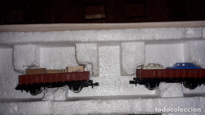 Trenes Escala: IBERTREN 3N REF. 301 T.R. VAPOR MERCANCIAS, TREN ANTIGUO, TREN ELECTRICO , JUGUETE ANTIGUO - Foto 11 - 204740051