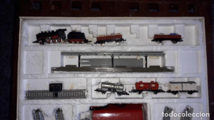Trenes Escala: IBERTREN 3N REF. 301 T.R. VAPOR MERCANCIAS, TREN ANTIGUO, TREN ELECTRICO , JUGUETE ANTIGUO - Foto 14 - 204740051