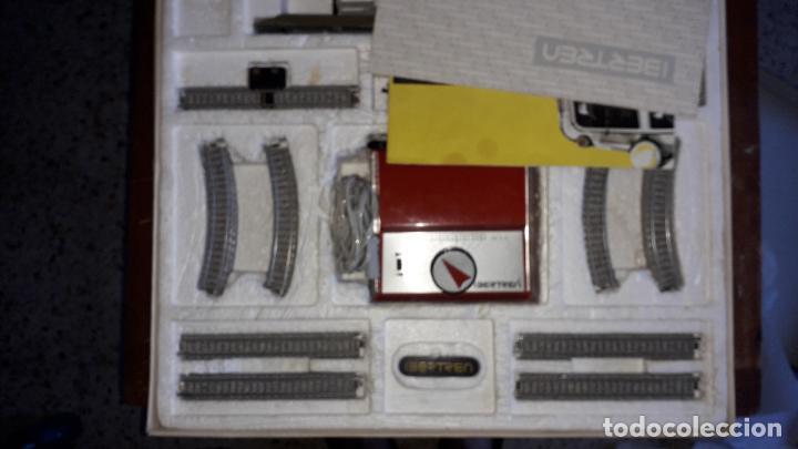 Trenes Escala: IBERTREN 3N REF. 301 T.R. VAPOR MERCANCIAS, TREN ANTIGUO, TREN ELECTRICO , JUGUETE ANTIGUO - Foto 16 - 204740051