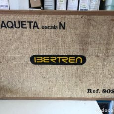 Trenes Escala: MAQUETA IBERTREN ESCALA N REF. 802. Lote 205294247