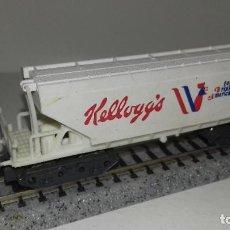 Trenes Escala: IBERTREN N TOLVA KELLOGGS --- L44-332 (CON COMPRA DE 5 LOTES O MAS, ENVÍO GRATIS). Lote 206804505