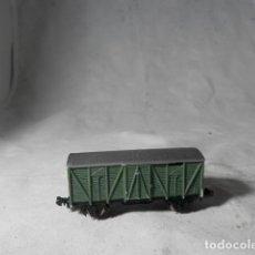Trenes Escala: VAGÓN CERRADO ESCALA N DE IBERTREN. Lote 207245357