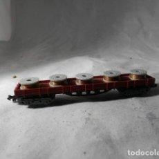 Trenes Escala: VAGÓN TELERO ESCALA N DE IBERTREN. Lote 207247056