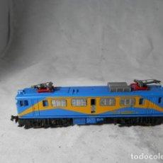 Trenes Escala: LOCOMOTORA ELECTRICA RENFE MAZINGER ESCALA N DE IBERTREN. Lote 207271368