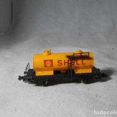 Trenes Escala: VAGÓN CISTERNA ESCALA N DE IBERTREN. Lote 207273707