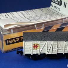 Trenes Escala: VAGÓN CERRADO *FRÍO* REF. 344, IBERTREN MADE IN SPAIN ESC. N, ORIGINAL AÑOS 80.. Lote 208112348