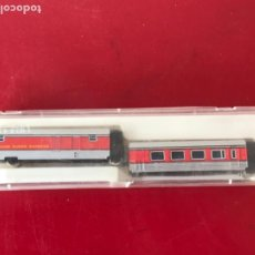 Trenes Escala: PAR DE FURGONES DE APOYO DEL TALGO DE IBERTREN, REF. 281. ESCALA N. Lote 208227122