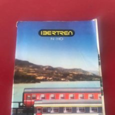 Trenes Escala: IBERTREN N Y H0 CATALOGO TARIFA 1987-1988.. Lote 208445332