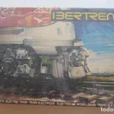 Trenes Escala: EQUIPO COMPLETO IBERTREN REFERENCIA 113. ESCALA 3N FUNCIONA. Lote 210327072