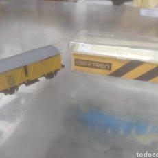 Trenes Escala: VAGÓN DE MERCANCÍAS IBERTREN AÑOS 70 NUEVO. Lote 210768462