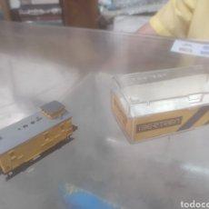 Trenes Escala: VAGÓN DE MERCANCÍAS IBERTREN AÑOS 70 NUEVO EN SU CAJA ORIGINAL. Lote 210769529