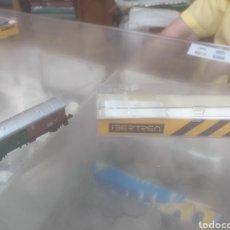 Trenes Escala: VAGÓN DE MERCANCÍAS IBERTREN AÑOS 70 NUEVO EN SU CAJA ORIGINAL. Lote 210769900