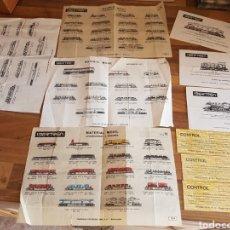 Trenes Escala: LOTE DE FOLLETOS IBERTREN. Lote 211386906