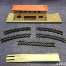 Trenes Escala: ESTACION TREN IBERTREN ESCALA N VIAS RAMPA VER FOTOS. Lote 213198841