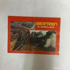 Trenes Escala: IBERTREN, CATÁLOGO MATERIAL MÓVIL 3 N, AÑO 1977. Lote 213775397