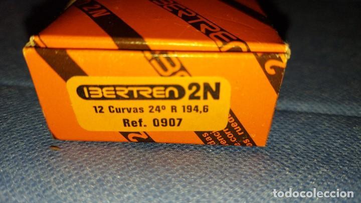 IBERTREN 2N 12 VIAS CURVAS 24º REF 0907 (Juguetes - Trenes a escala N - Ibertren N)