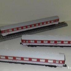 Trenes Escala: IBERTREN N 3 VAG PASAJEROS INTERCITY CON LUZ -- L46-163 (CON COMPRA DE 5 LOTES O MAS, ENVÍO GRATIS). Lote 215283376