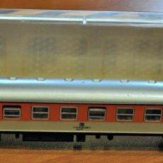 Comboios Escala: COCHE DE VIAJEROS 4 EJES 1ª CLASE NARANJA-GRIS DE LA DB DE IBERTREN, REF. 219. ESCALA N. Lote 215572621