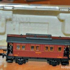Trenes Escala: COCHE DE VIAJEROS 2 EJES 1ª CLASE MZA CON LUZ DE IBERTREN, REF. 247. ESCALA N. Lote 216498647