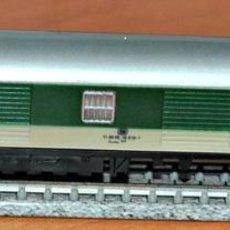 Trenes Escala: FURGÓN DE EQUIPAJES 4 EJES VERDE-GRIS DE LA DB DE IBERTREN, REF. 221. ESCALA N. Lote 216543268