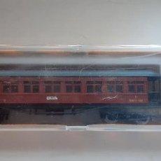 Comboios Escala: IBERTREN, VAGÓN ESCALA N REF. 222, EN SU CAJA ORIGINAL. Lote 217931265
