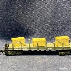 Trenes Escala: VAGON MERCANCIAS ESCALA N IBERTREN 12CMS. Lote 220978355