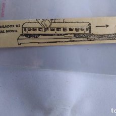 Trenes Escala: IBERTREN N CARTULINA ENCARRILADOR EQUIPO. Lote 221462002
