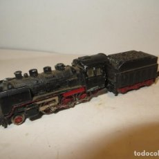 Trenes Escala: IBERTREN LOCOMOTORA A VAPOR CON TENDER EN 3N COMPLETA Y FUNCIONA,REGALADA. Lote 222217615