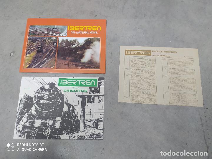 Trenes Escala: IBERTREN Modelo 141 Escala 3N (Caja completa,incluye documentación e instrucciones) - Foto 8 - 222303441