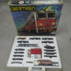Trenes Escala: IBERTREN MODELO 141 ESCALA 3N (CAJA COMPLETA,INCLUYE DOCUMENTACIÓN E INSTRUCCIONES). Lote 222303441