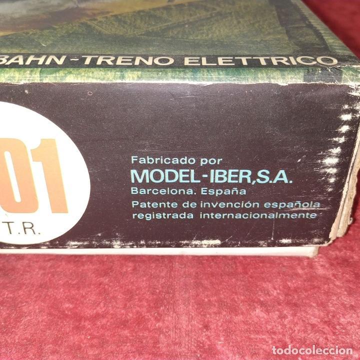 Trenes Escala: TREN IBERTREN 3N 301 T. R. EN CAJA ORIGINAL. ESPAÑA. SIGLO XX - Foto 6 - 222325091