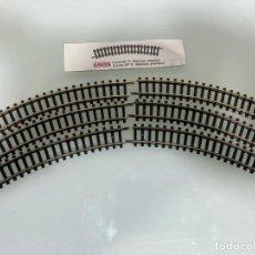 Trenes Escala: TREN, IBERTREN 6908, 6 VIAS CURVA 30º R. 194,6 MM INTERIOR. Lote 226629265