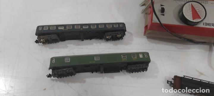 Trenes Escala: LOTE DE IBERTREN TRASNSFORMADOR VIAS VAGONES ESCALA 3N - Foto 2 - 228091875
