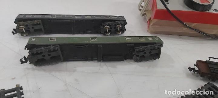 Trenes Escala: LOTE DE IBERTREN TRASNSFORMADOR VIAS VAGONES ESCALA 3N - Foto 4 - 228091875