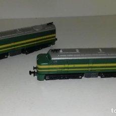 Trenes Escala: IBERTREN 2N LOCOMOTORA DOBLE ALCO L37-193 (CON COMPRA DE 5 LOTES O MAS ENVÍO GRATIS). Lote 128353091