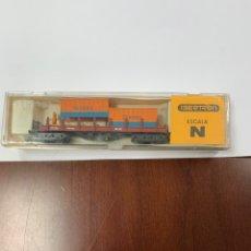 Comboios Escala: VAGÓN DE CARGA IBERTREN ESCALA N.. Lote 233084395