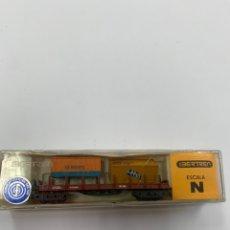 Comboios Escala: VAGÓN DE CARGA IBERTREN ESCALA N.. Lote 233086655