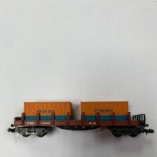 Comboios Escala: VAGÓN DE CARGA IBERTREN ESCALA N.. Lote 233092355