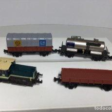 Comboios Escala: IBRETREN 2N LOCOMOTORA Y VAGONES. Lote 233223280