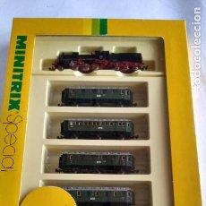 Trenes Escala: TRIX MINITRIX SPECIAL SET REF 11089. MUY BUEN ESTADO. VÁLIDO IBERTREN 2N,ROCO,ETC. Lote 233856815