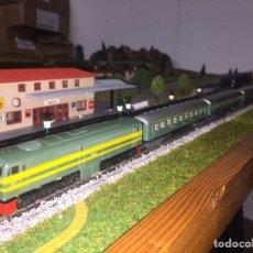 Comboios Escala: ALCO 1800 IBERTREN + VAGONES 8000. Lote 234112435