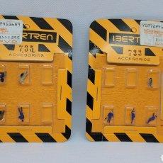 Trenes Escala: IBERTREN ACCESORIOS PERSONAJES. REF 733 Y 755. Lote 239374040