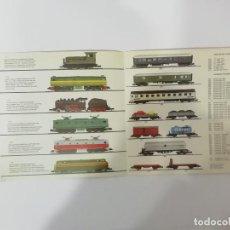 Trenes Escala: IBERTREN N - CATÁLOGO MATERIAL MÓVIL : LOCOMOTORAS VAGONES MERCANCÍAS COCHES VIAJEROS... -(L). Lote 240607525