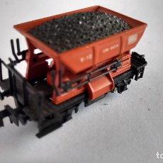 Comboios Escala: IBERTREN N ,VAGÓN TOLVA CON CARBÓN. Lote 240639290