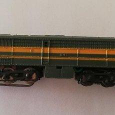 Trains Échelle: IBERTRE 3N. LOCOMOTORA DIESEL ALCO. REFERENCIA 1102. AÑO 1973.. Lote 241160360