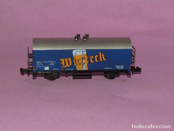 Trenes Escala: Antiguo Vagón Frigorífico 2 Ejes WARTECK Ref. 6380 en Escala *N* de IBERTREN Iber Model - Foto 2 - 241429495
